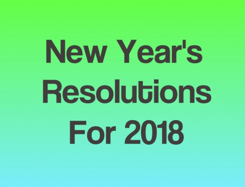 New Years Resolutions For 2018: Three Green Challenges To Get You Started