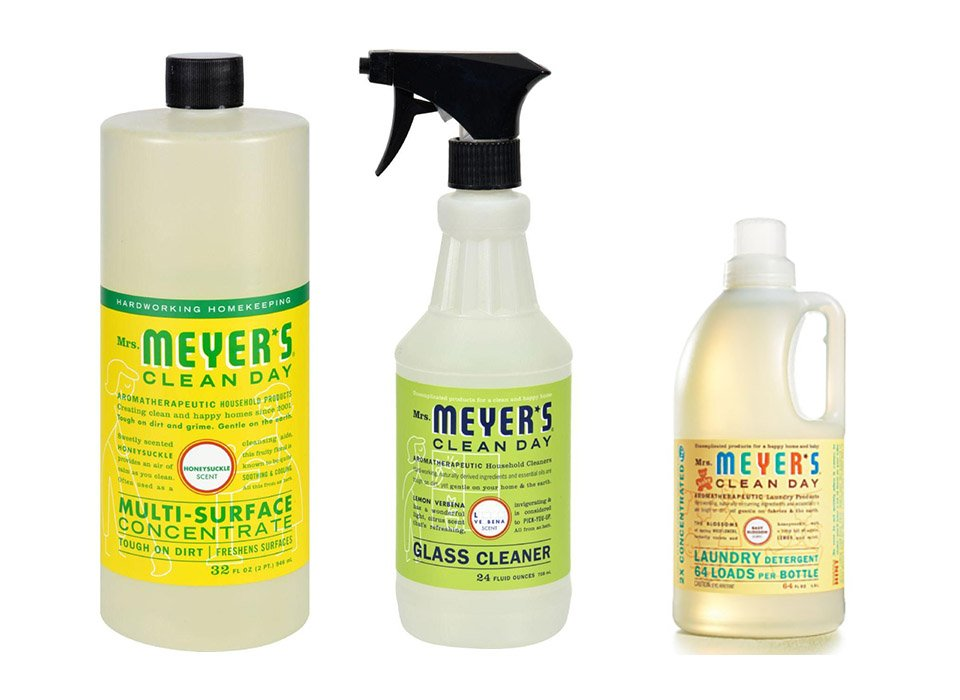 Natural Home Cleaning with Mrs. Meyer's Products