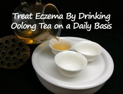 Eczema Treatment: Drink Oolong Tea on a Daily Basis to Soothe Skin Itchy Rash