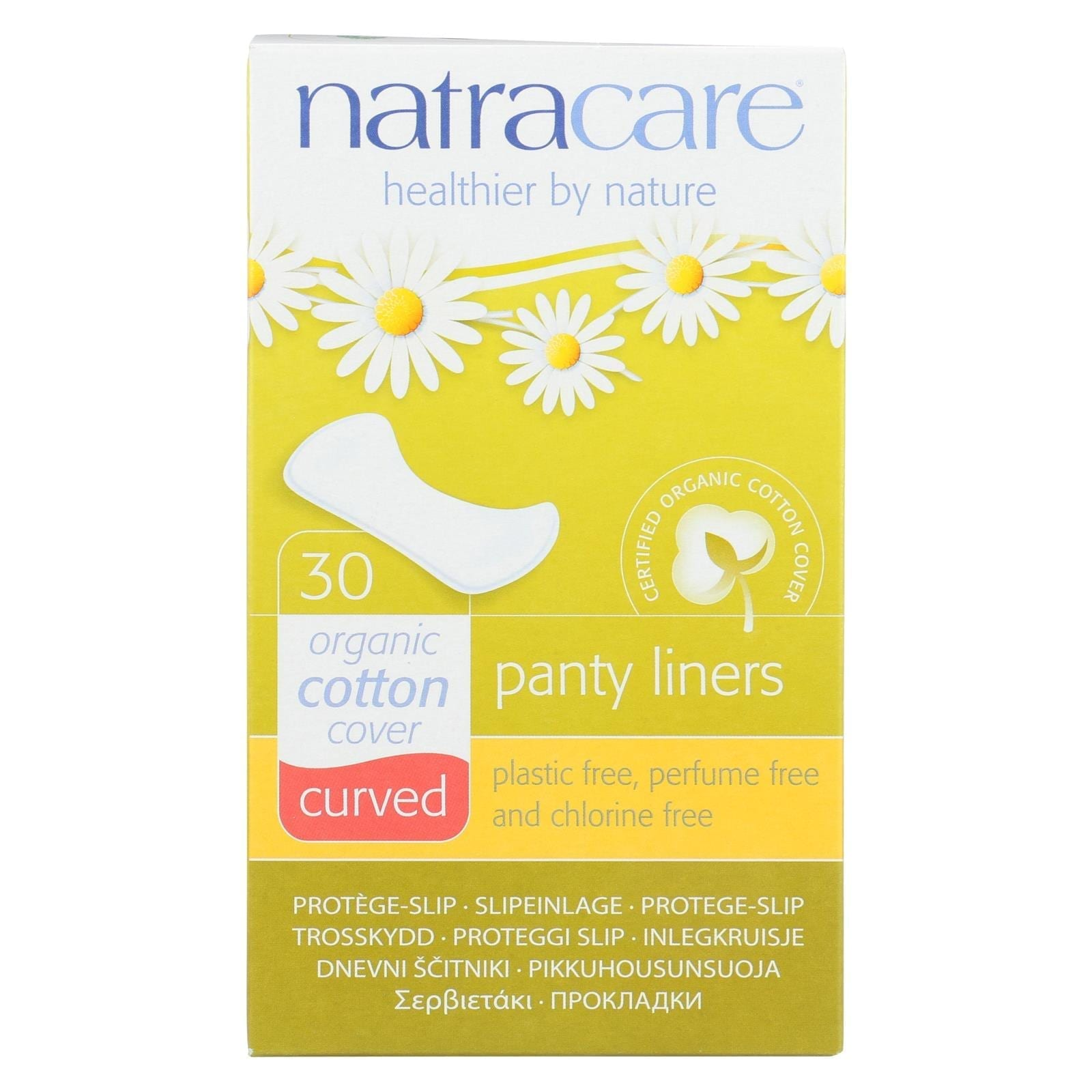 Natracare Natural Curved Panty Liners