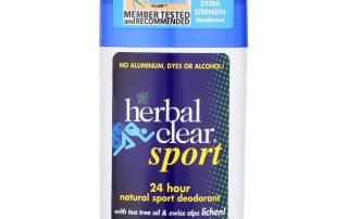 Herbal Clear Sport Natural Deodorant