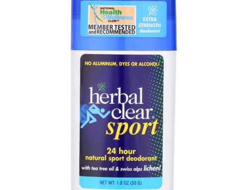 Herbal Clear Sport Natural Deodorant and Tips for Controlling Body Odor