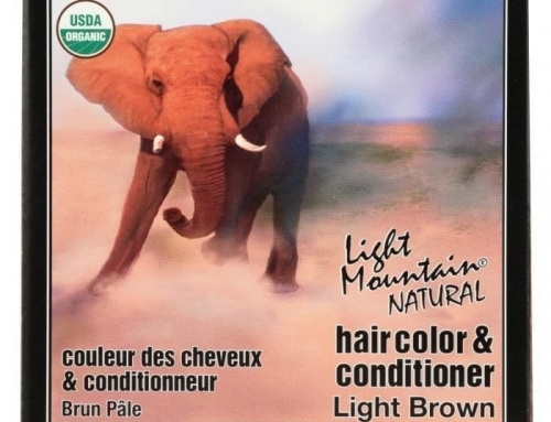 Light Mountain Organic Hair Color Conditioner for Colored hair
